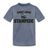 ST LOUIS STAMPEDE KID'S PREMIUM TEE - heather blue