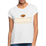 LOUISVILLE FIREBIRDS WOMEN'S RELAXED TEE - white
