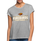 LOUISVILLE FIREBIRDS WOMEN'S RELAXED TEE - heather gray