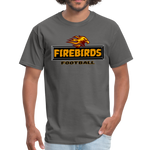 LOUISVILLE FIREBIRDS UNISEX TEE - charcoal