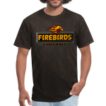 LOUISVILLE FIREBIRDS UNISEX TEE - mineral black