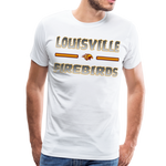 LOUISVILLE FIREBIRDS MEN'S PREMIUM TEE - white