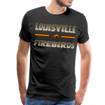 LOUISVILLE FIREBIRDS MEN'S PREMIUM TEE - black