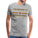 LOUISVILLE FIREBIRDS MEN'S PREMIUM TEE - heather gray