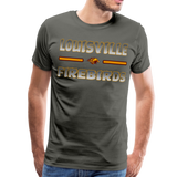 LOUISVILLE FIREBIRDS MEN'S PREMIUM TEE - asphalt gray