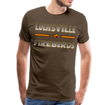 LOUISVILLE FIREBIRDS MEN'S PREMIUM TEE - noble brown