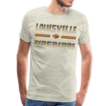 LOUISVILLE FIREBIRDS MEN'S PREMIUM TEE - heather oatmeal