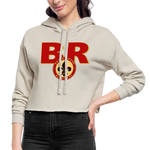 BATON ROUGE REDSTICKS SPECIALITY WOMEN'S CROPPED HOODIE - dust