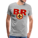 BATON ROUGE REDSTICKS SPECIALITY MEN'S PREMIUM TEE - heather gray