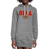 BATON ROUGE REDSTICKS SPECIALTY WOMEN'S HOODIE DRESS - heather gray
