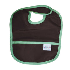 Green Drool Proof Bib