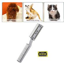 Load image into Gallery viewer, Dog/Cat Grooming Comb