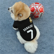Load image into Gallery viewer, Ronaldo Football (soccer) Shirt For Dogs