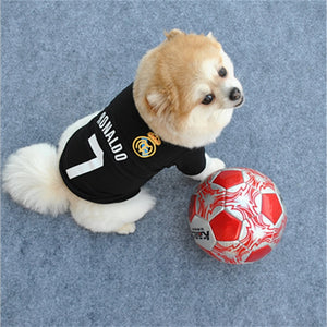 Ronaldo Football (soccer) Shirt For Dogs