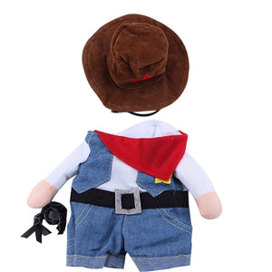 Dog/Cat Cowboy Costume