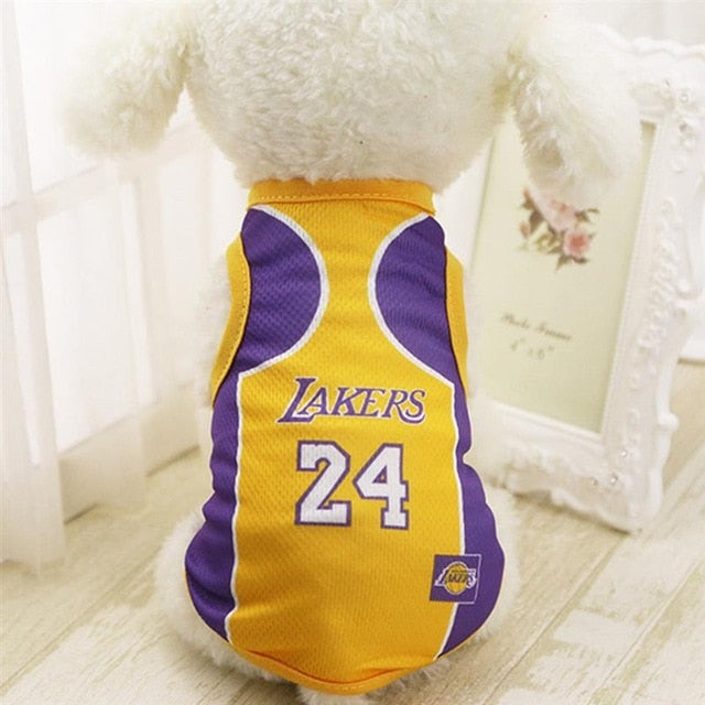 Lakers Basketball Jersey Vest