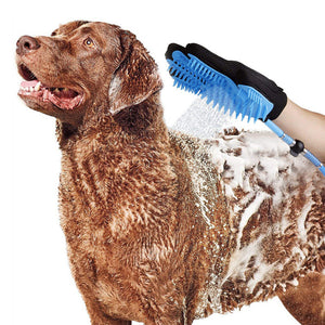 Silicone Dog Bath brush Glove