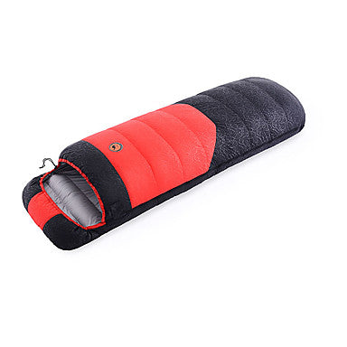 Shamocamel® Sleeping Bag Outdoor Envelope / Rectangular Bag -35-25- Single Duck Down Warm Ultra Light (UL) 210*80 cm Autumn / Fall Fall Winter for Camping Outdoor Sleeping Bags Camping & Hiking