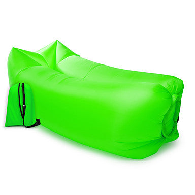 21Grams Air Sofa Inflatable Sofa Sleep lounger Inflatable Couch Outdoor Camping Waterproof Portable Anti-Air Leaking Design Extra Wide Extra Large Nylon Beach Camping Outdoor Fast Inflatable
