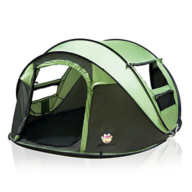 5 person Pop up tent Outdoor Double Layered Automatic Dome Camping Tent 2000-3000 mm for Camping Traveling 200*280*120 cm