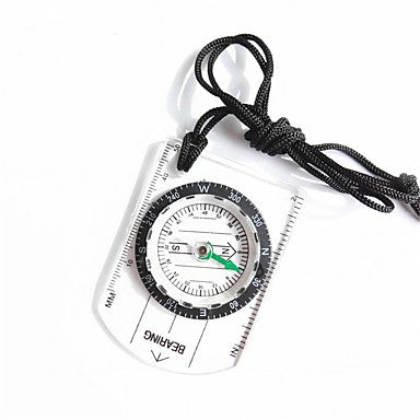 Compasses Light and Convenient Measure Small Size Compass Climbing Outdoor Exercise Trekking Plastic cm 1 pcs