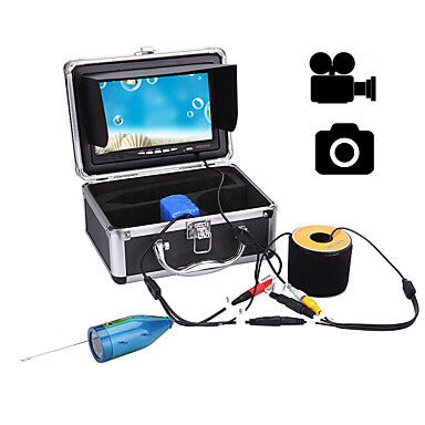 Fish Finder 177.8 mm LCD 50 m Underwater Waterproof High Resolution Sea Fishing Ice Fishing