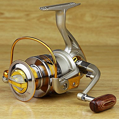 Fishing Reel Spinning Reel 5.5/1 Gear Ratio+12 Ball Bearings Hand Orientation Exchangable Sea Fishing / Carp Fishing