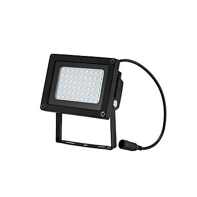 1pc 15 W LED Floodlight / Lawn Lights / Outdoor Wall Lights Waterproof / Solar / Light Control Warm White+White 3.7 V Outdoor Lighting / Courtyard / Garden 54 LED Beads