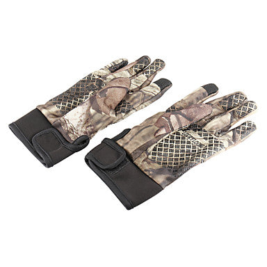 Camo Hunting Gloves Thermal / Warm Anti-Wear Nylon Spring for Men's Camping / Hiking Hunting Climbing