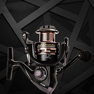 Fishing Reel Spinning Reel 5.5:1 Gear Ratio+15 Ball Bearings Hand Orientation Exchangable Bait Casting / Lure Fishing