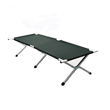 BEAR SYMBOL Camping Cot Portable Foldable Folding Oxford Cloth Aluminium for 1 person Camping Autumn / Fall Spring Green Dark Green