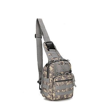 Daypack Sling & Messenger Bag Wallet 3.5 L - Multifunctional Waterproof Breathable Rain Waterproof Outdoor Camping / Hiking Hunting Fishing Oxford Python