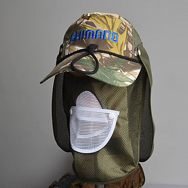 Unisex Hat Summer Sports & Outdoor Nylon / Mesh Breathability Solid Colored / Camouflage