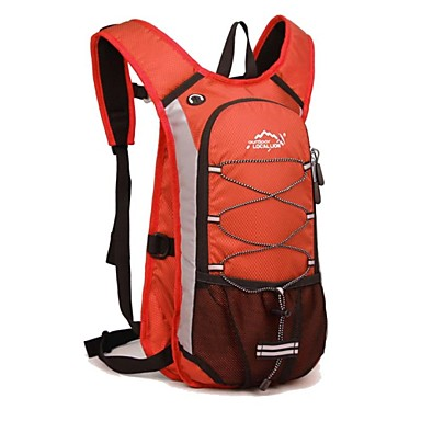 Hiking Backpack Cycling Backpack Gym Bag / Yoga Bag 12 L - Moistureproof Quick Dry Dust Proof Wearable Outdoor Swimming Camping / Hiking Fishing Polyester Nylon Orange Blue Pink