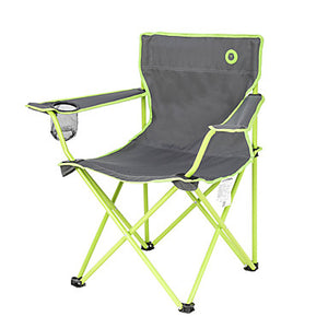 BEAR SYMBOL Camping Chair with Armrest with Cup Holder Portable Foldable Anti-tear 500D Nylon Steel for 1 person Fishing Beach Camping Traveling Autumn / Fall Spring Orange Green Blue