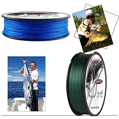 PE Braided Line / Dyneema / Superline Fishing Line 100M / 110 Yards 80LB 70LB 60LB 0.1-0.5 mm Sea Fishing Bait Casting Lure Fishing / 55LB / 50LB / 45LB / 40LB / 35LB