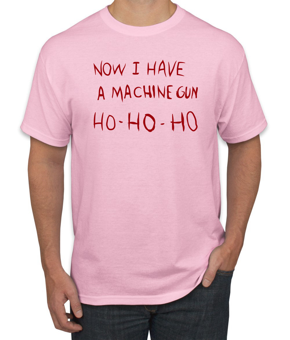 Die Hard Now I Have a Machine Gun Ho ho ho Christmas Men's Graphic T-Shirt