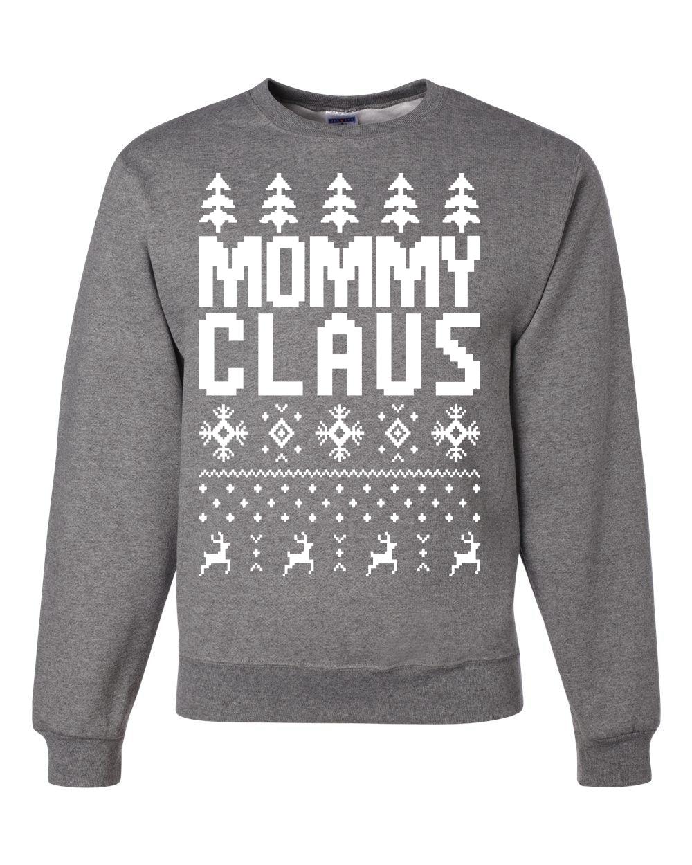 Mommy Claus Christmas Unisex Crewneck Graphic Sweatshirt
