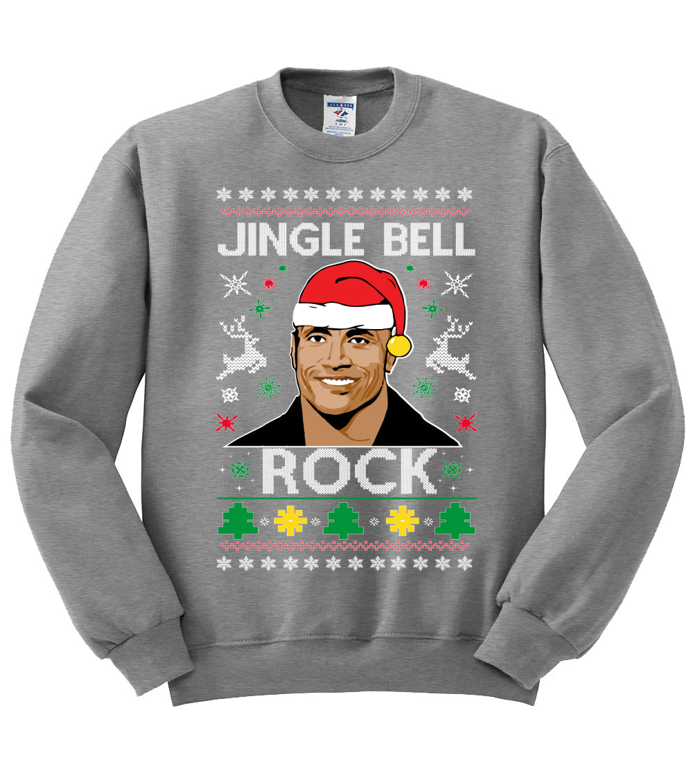 jingle bell rock Christmas Unisex Crewneck Graphic Sweatshirt
