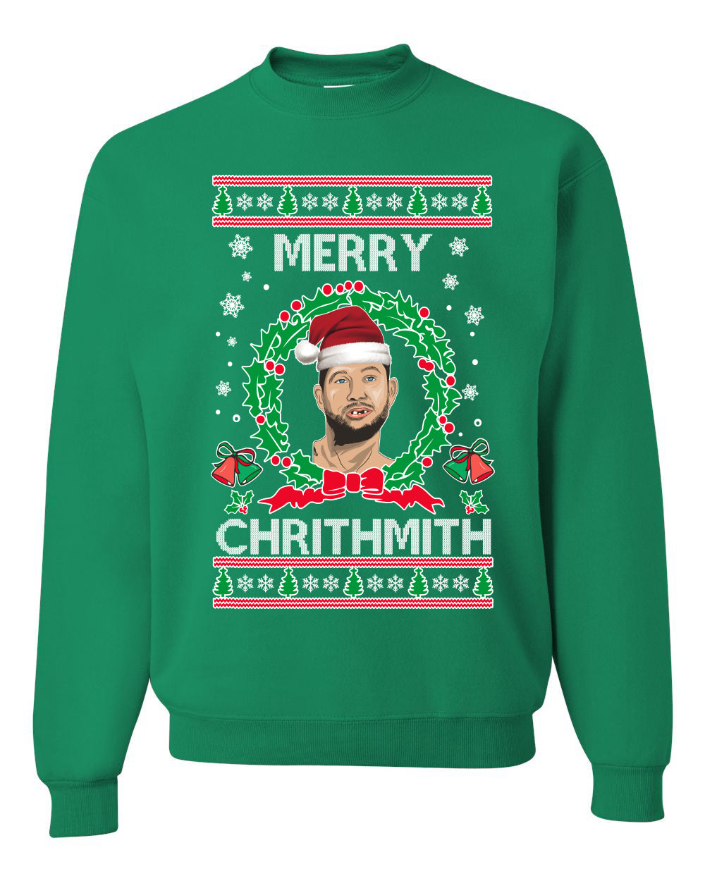 Merry Chrithmith John Finlay Lisp Tiger King Christmas Unisex Crewneck Graphic Sweatshirt