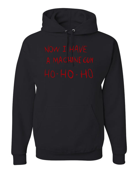 Die Hard Now I Have a Machine Gun Ho ho ho Christmas Unisex Graphic Hoodie Sweatshirt