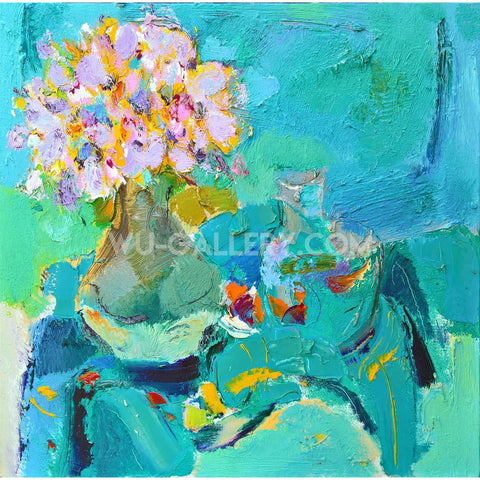 Flowers in the vase T010