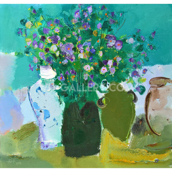 Flowers in the vase T014