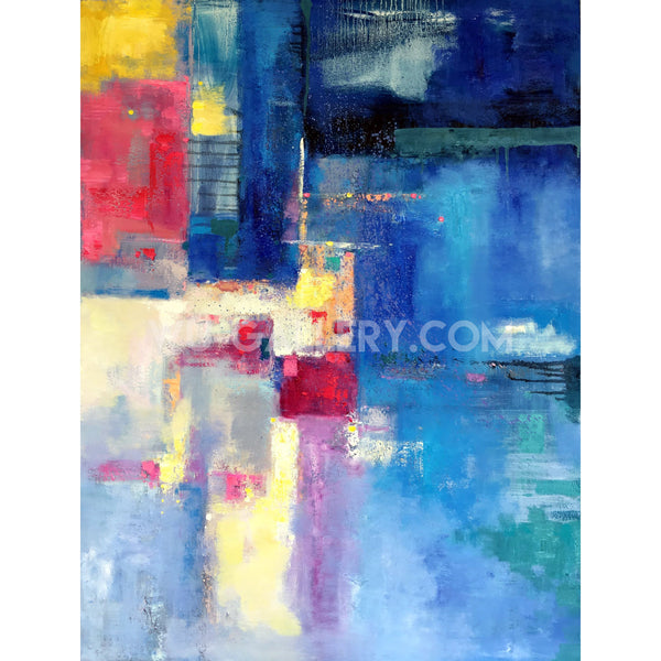 Vibrant colors abstract 298m