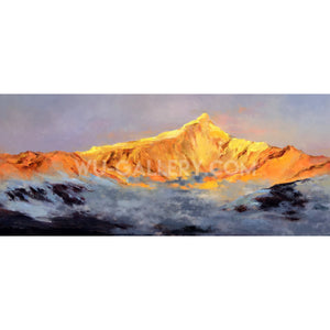 Golden splendid mountain 452