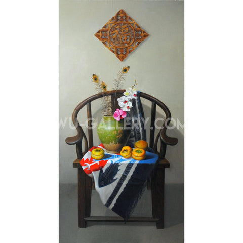 Still life oil painting:China Z002