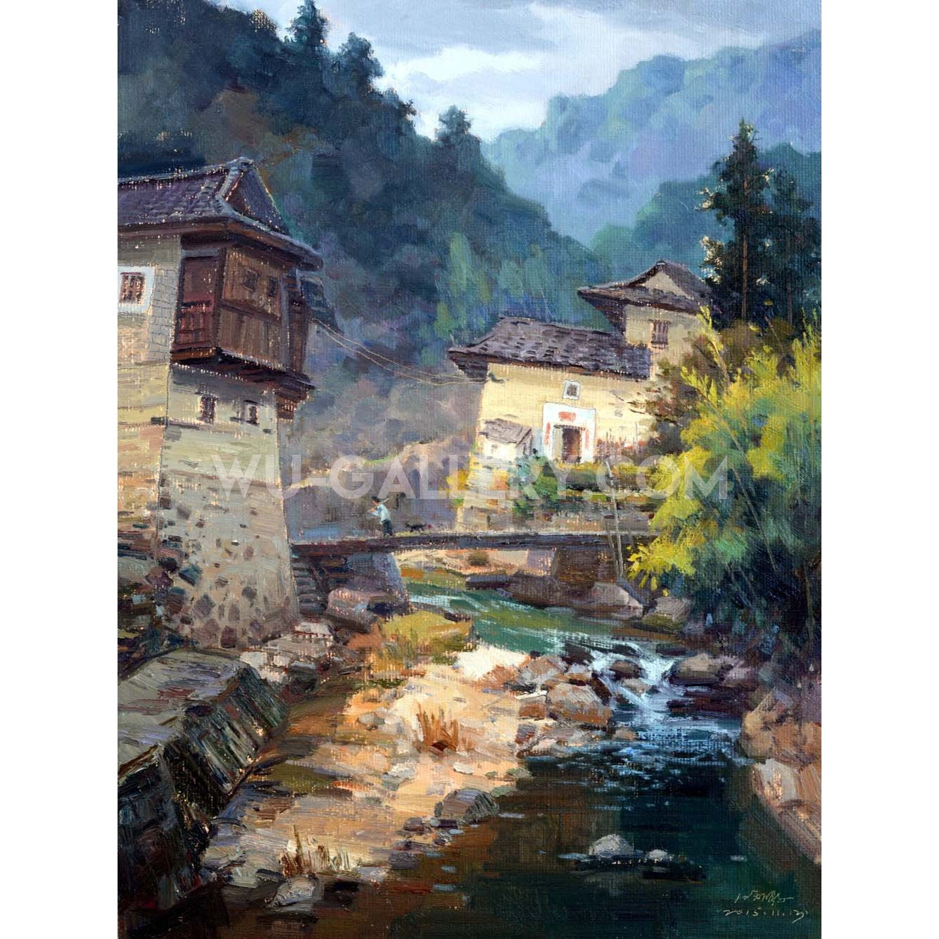 Chinese rural village j007p