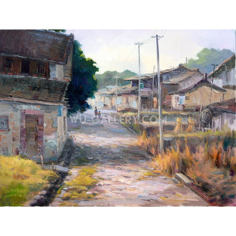 Chinese rural village j033p