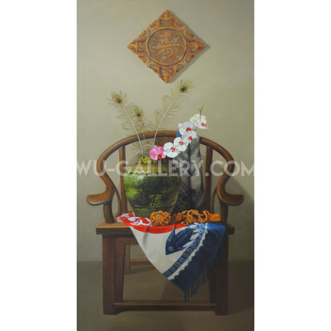 Still life oil painting t006m
