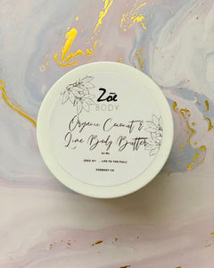 Organic Coconut & Lime Body Butter